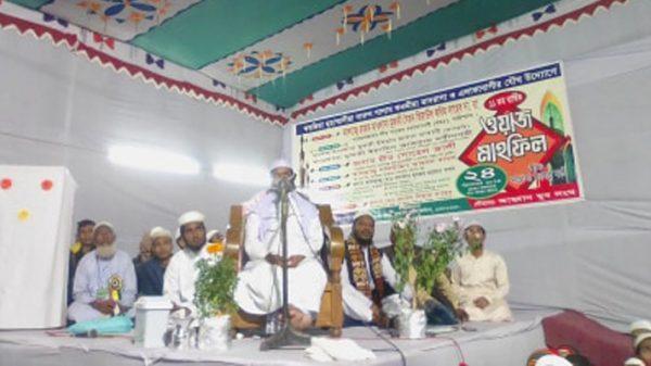 ফতুল্লার পূর্ব লালপুরে বাৎসরিক ওয়াজ মাহফিল অনুষ্ঠিত