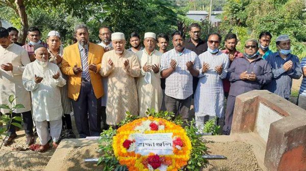 শহীদ রবিউলের মৃত্যুবার্ষিকীতে মহানগর বিএনপির শ্রদ্ধাঞ্জলী ও দোয়া
